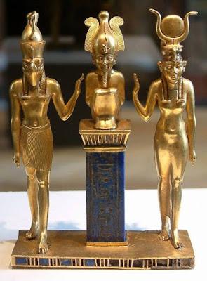 الشكل الفني في ديانة المصريين القدماء