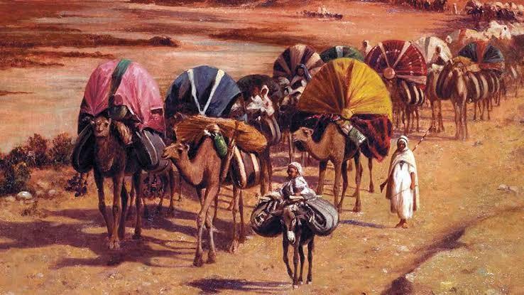 تجارة العرب بافريقيا وصلتهم بها