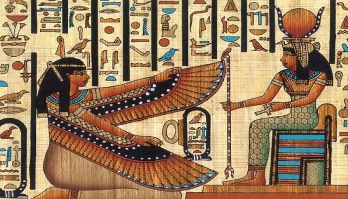 مراحل الرسم عند المصريين القدماء