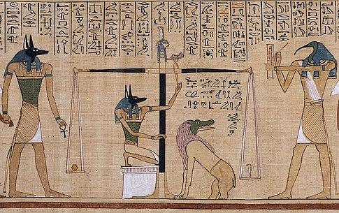 وصف الديانة المصرية القديمة