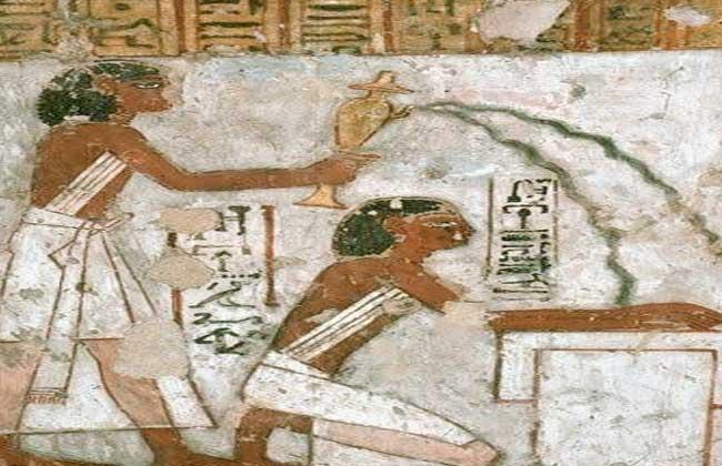 النظافة عند المصريين القدماء