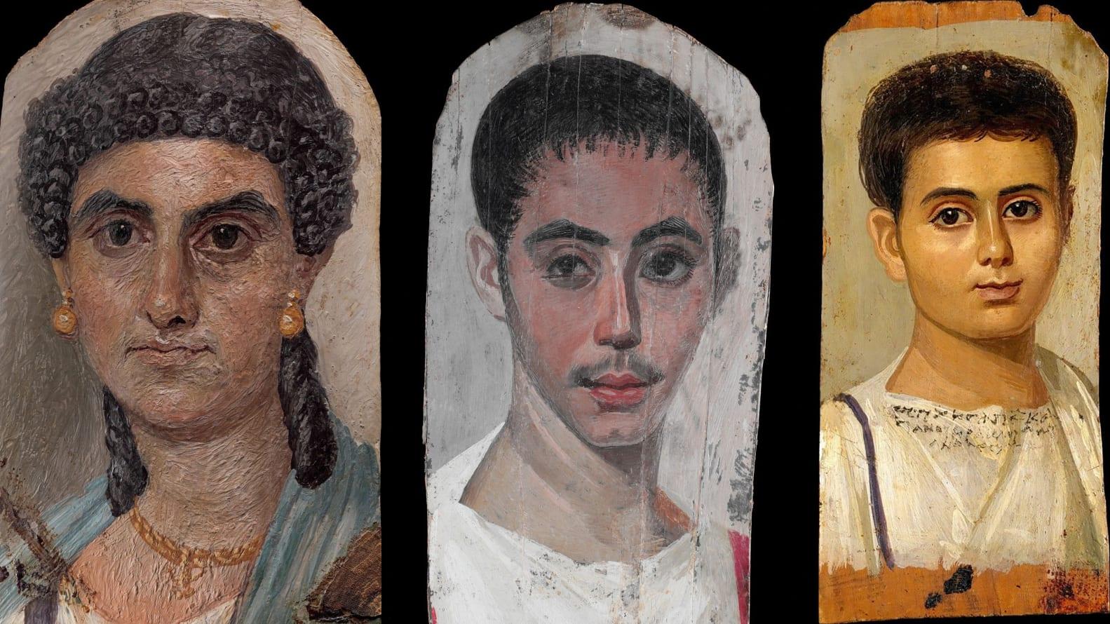 مقدمة حول بورتريهات الفيوم القصة الكاملة وراء لوحات مومياوات الفيوم