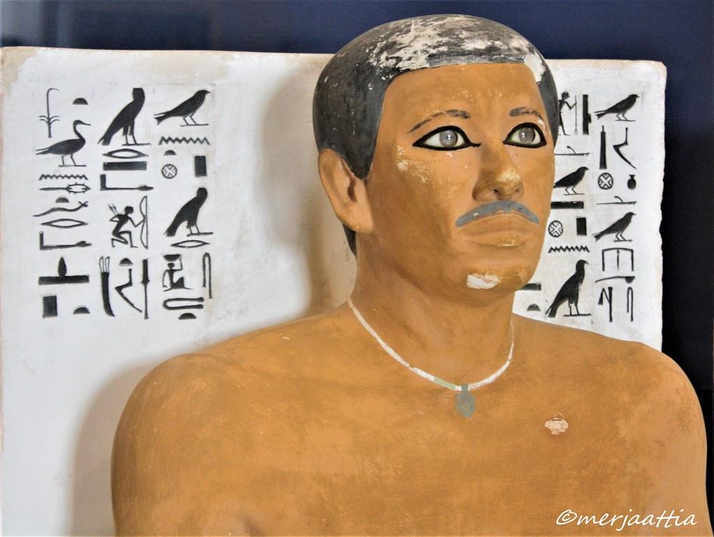 وصف تمثال رع حتب