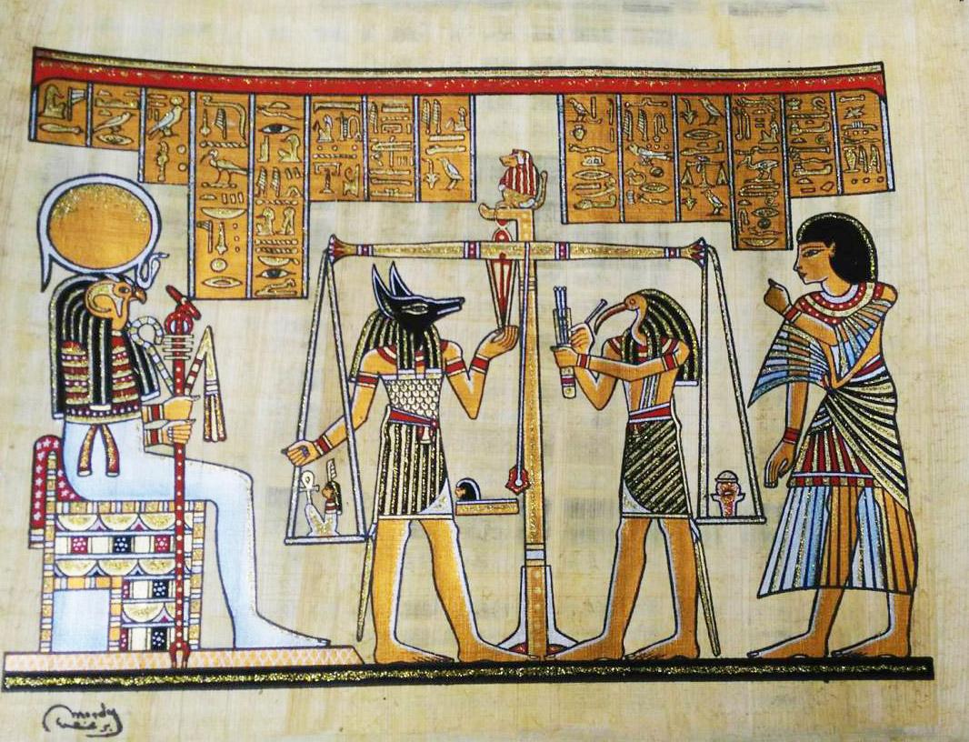 كيف كان فن الرسم في مصر القديمة