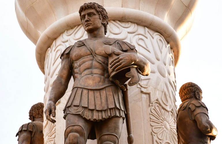 حملات الإسكندر الأكبر المقدوني