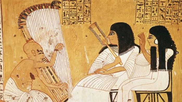 الموسيقى في حضارة مصر القديمة