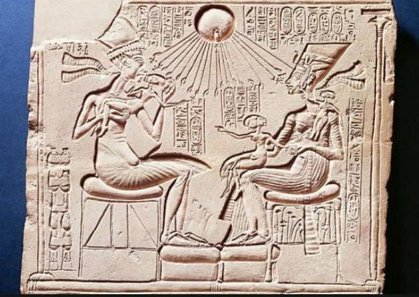 النحت في مصر القديمة بالمملكة الحديثة