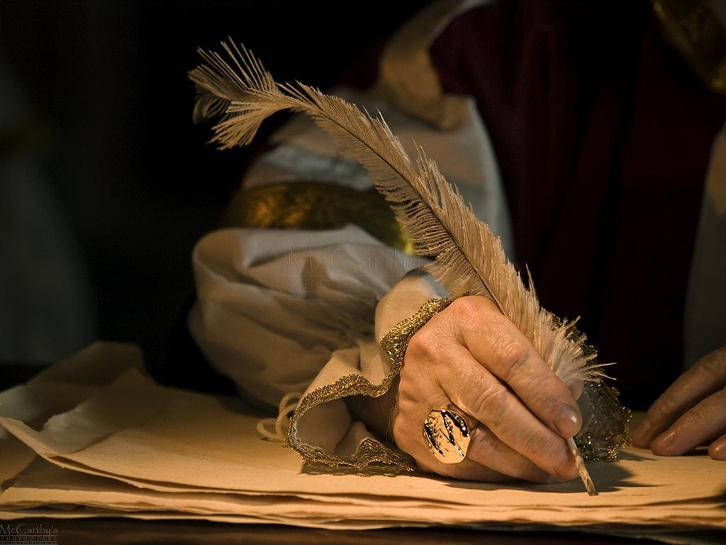 من هو اول من اخترع الكتابة