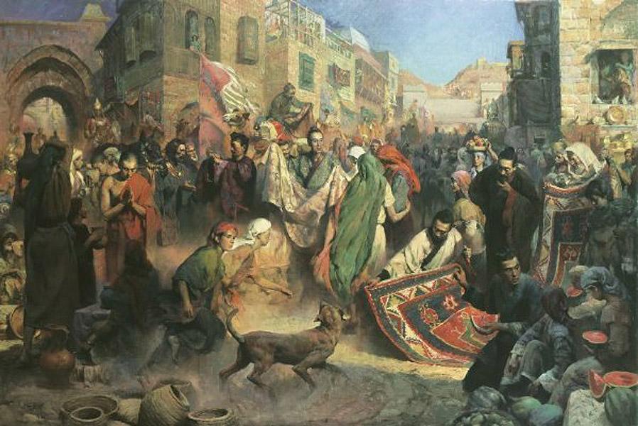 تجارة العرب بالصين وصلتهم بها