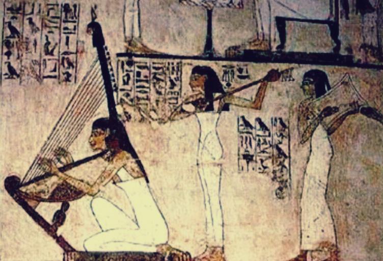 انواع الموسيقى في حضارة مصر القديمة