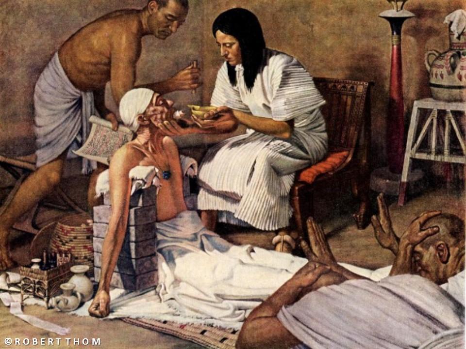 طرق العلاج عند المصريين القدماء