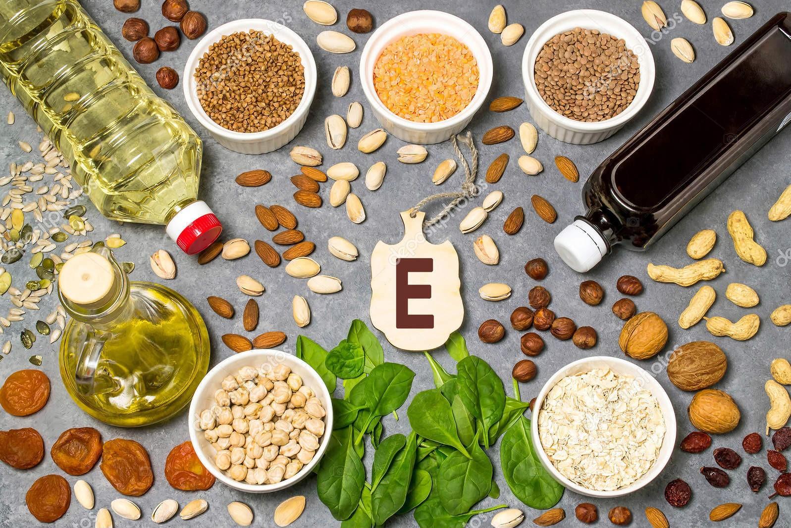 ما هي فوائد فيتامين E للبشرة والشعر : وأيضا مصادر فيتامين E في الطبيعة