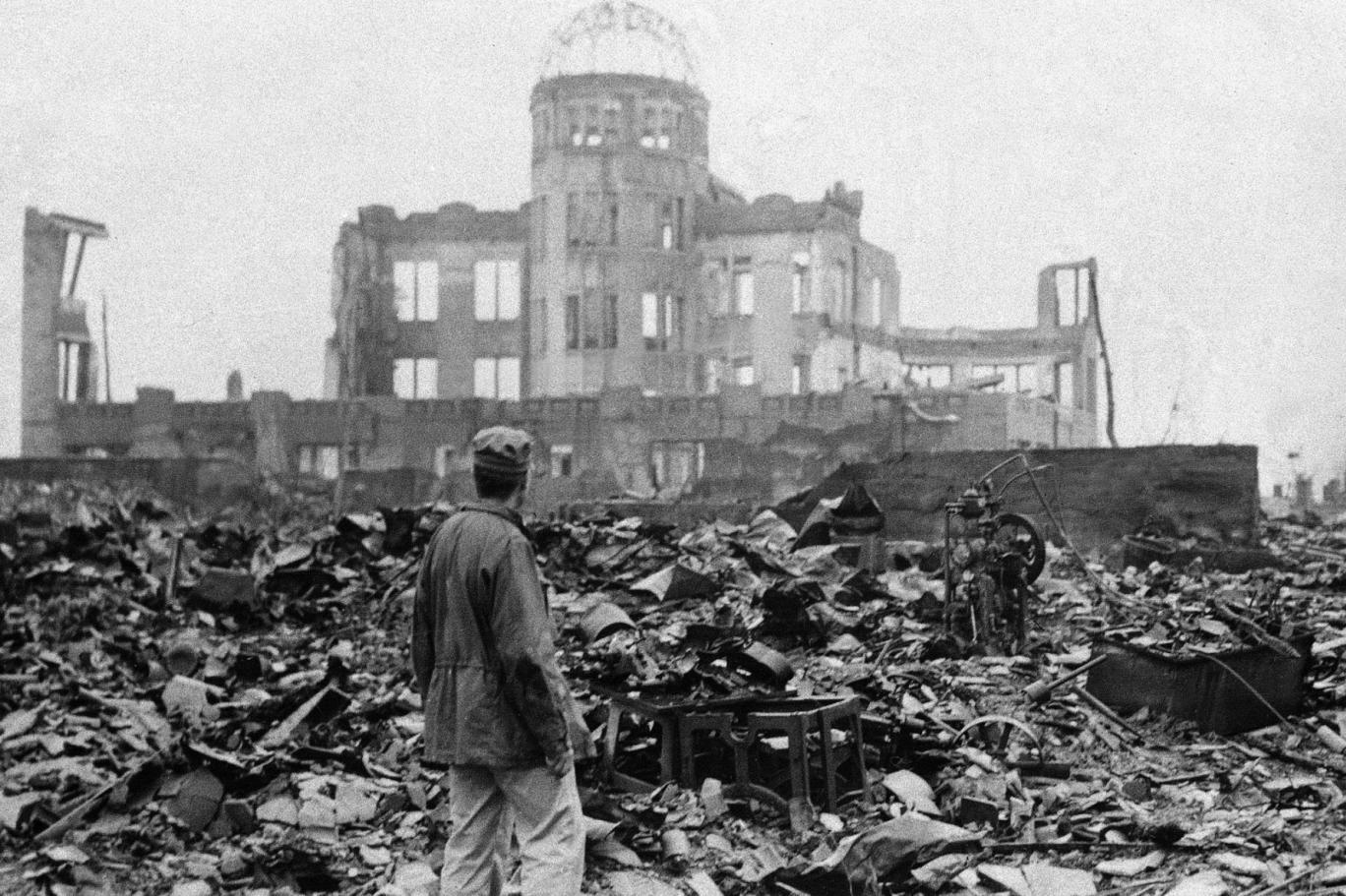 مقدمة حول القنبلة النووية علي هيروشيما وناغازاكي