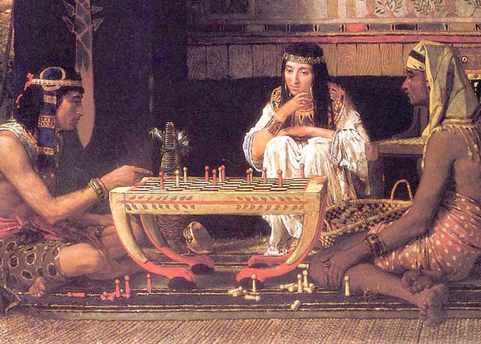 كيف تلعب لعبة السنت الفرعونية في مصر القديمة