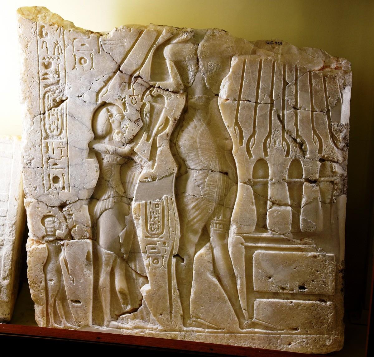العوامل الداخلية التي أدت الي نهاية عصر المصريين القدماء