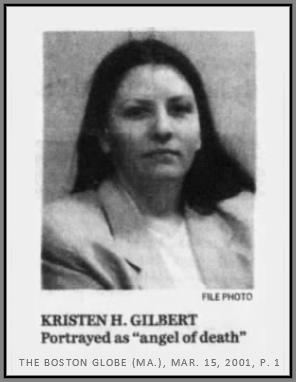 عمليات قتل ملكة الموت كريستين غيلبرت :