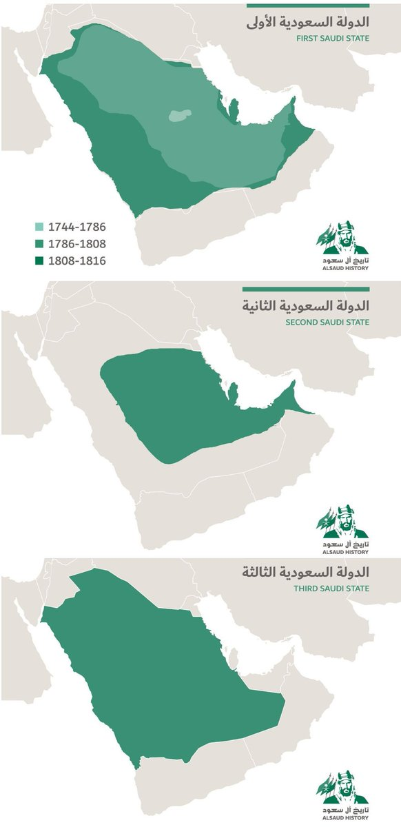 توحيد اقاليم السعودية : متى توحيد المملكة العربية السعودية الثالثة