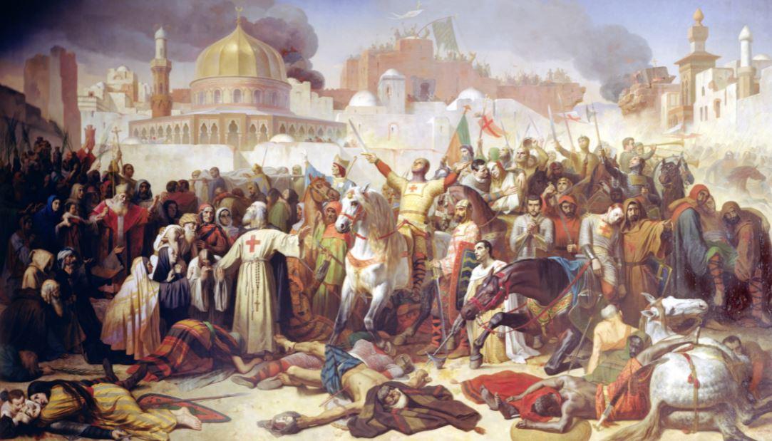 الحملة الصليبية الأولي علي القدس