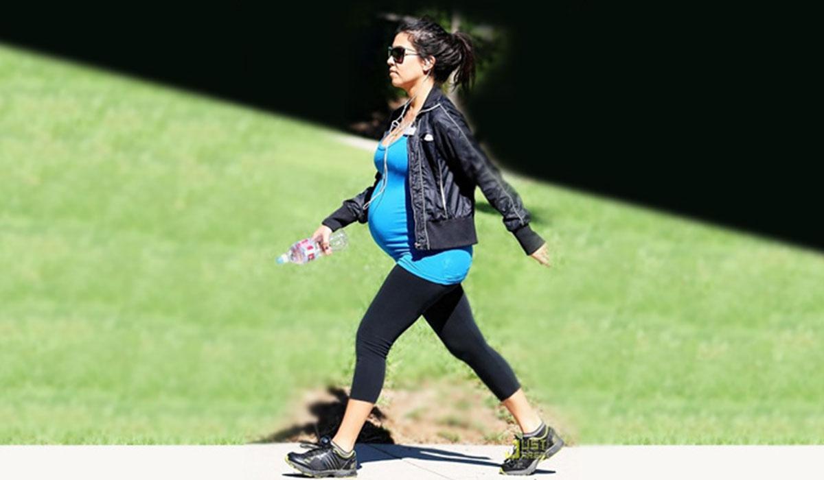 تمارين المشي للحامل