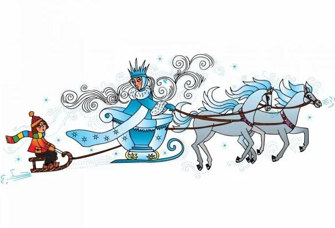 قصة ملكة الثلج الأصلية