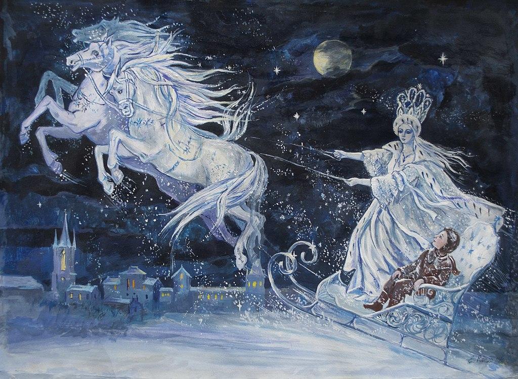 قصة ملكة الثلج