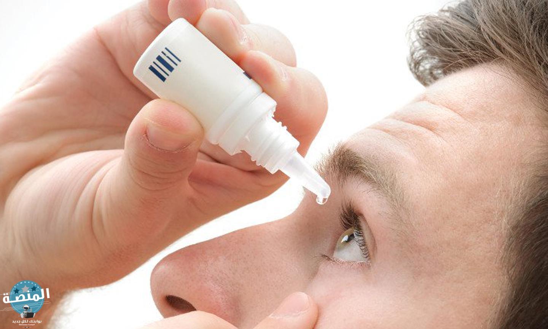 أنواع قطرات العين