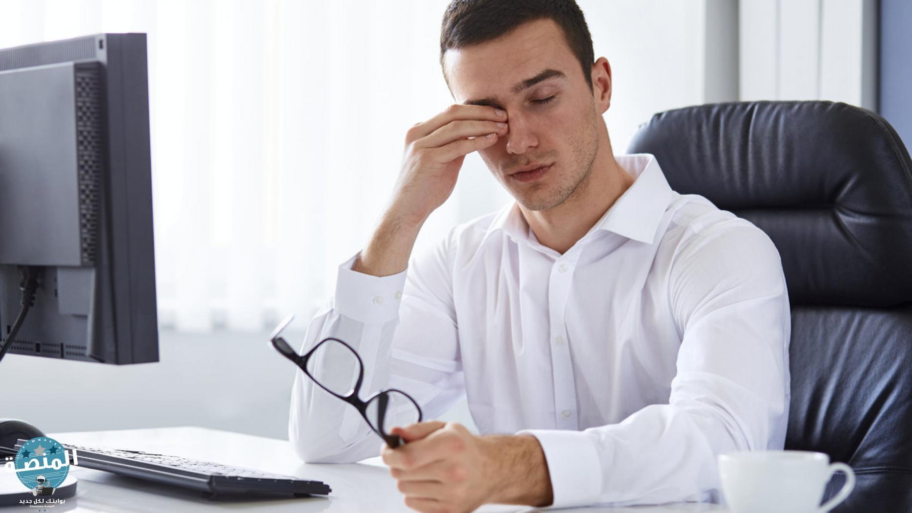 أضرار أجهزة الكمبيوتر علي العين