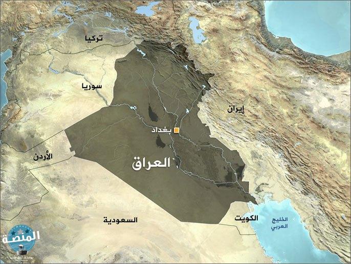 خريطة العراق