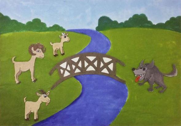 ملخص قصة الماعز الثلاثة