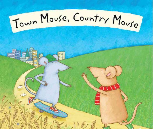 كاتب قصة فأر المدينة وفأر الريف