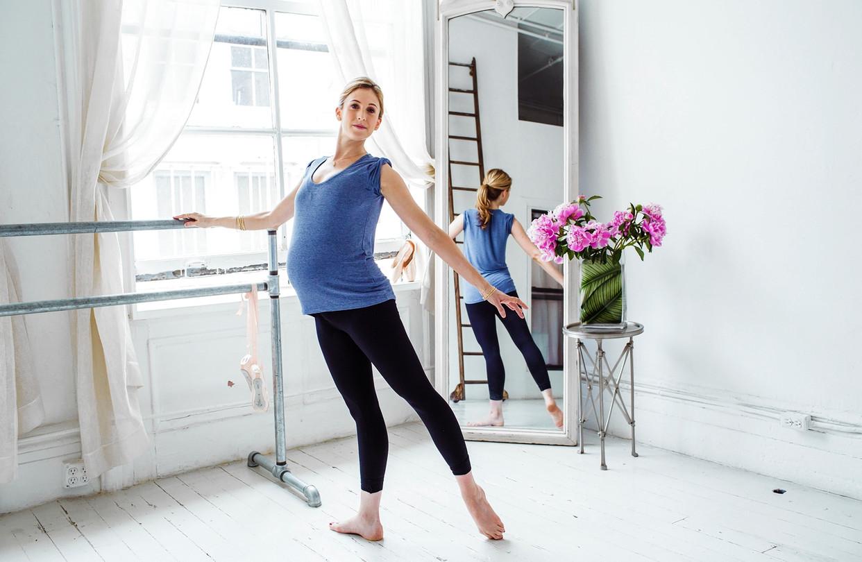 رياضة الرقص للحامل