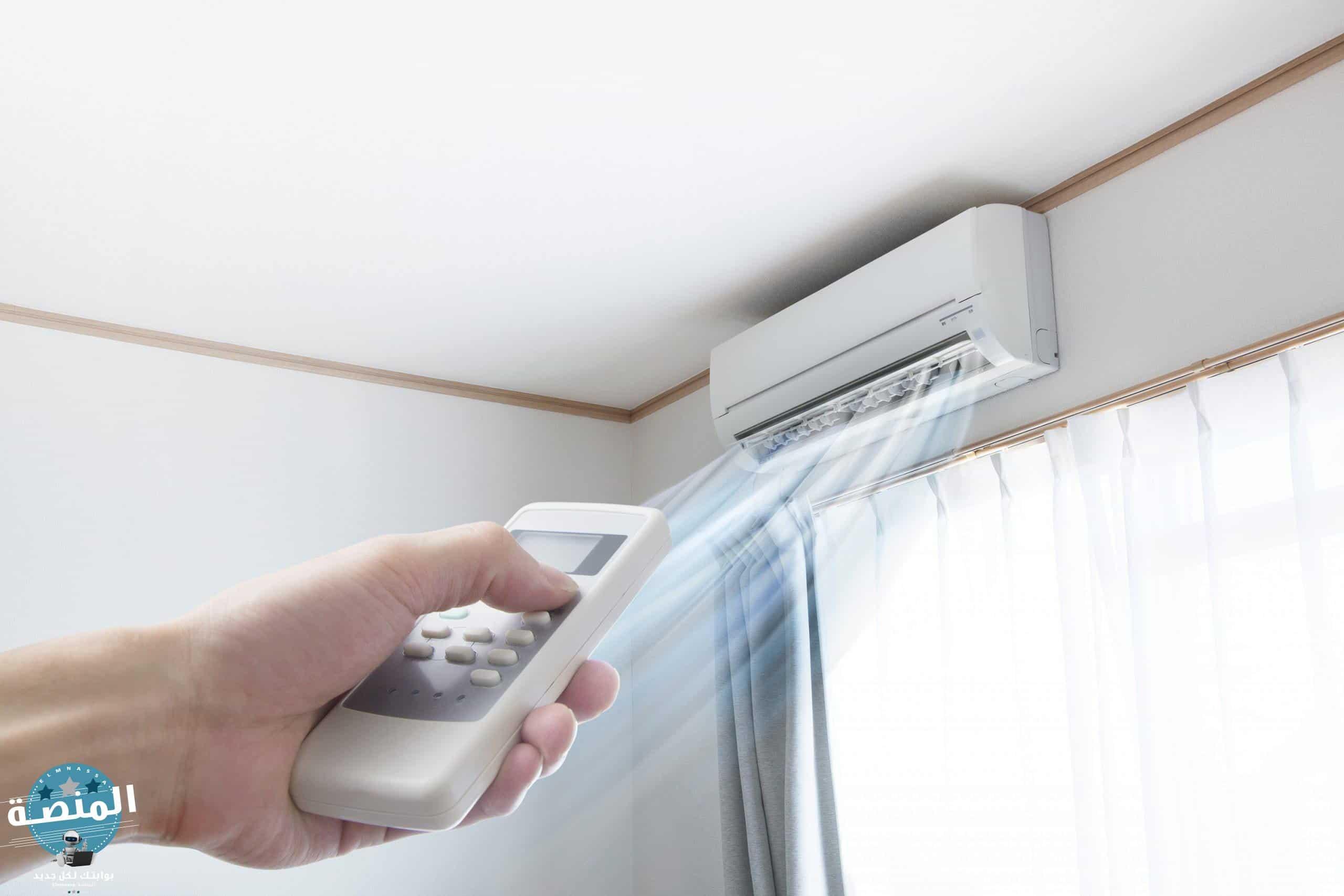 1- قلة الرطوبة في الهواء