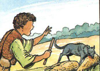 قصة الراعي الكاذب