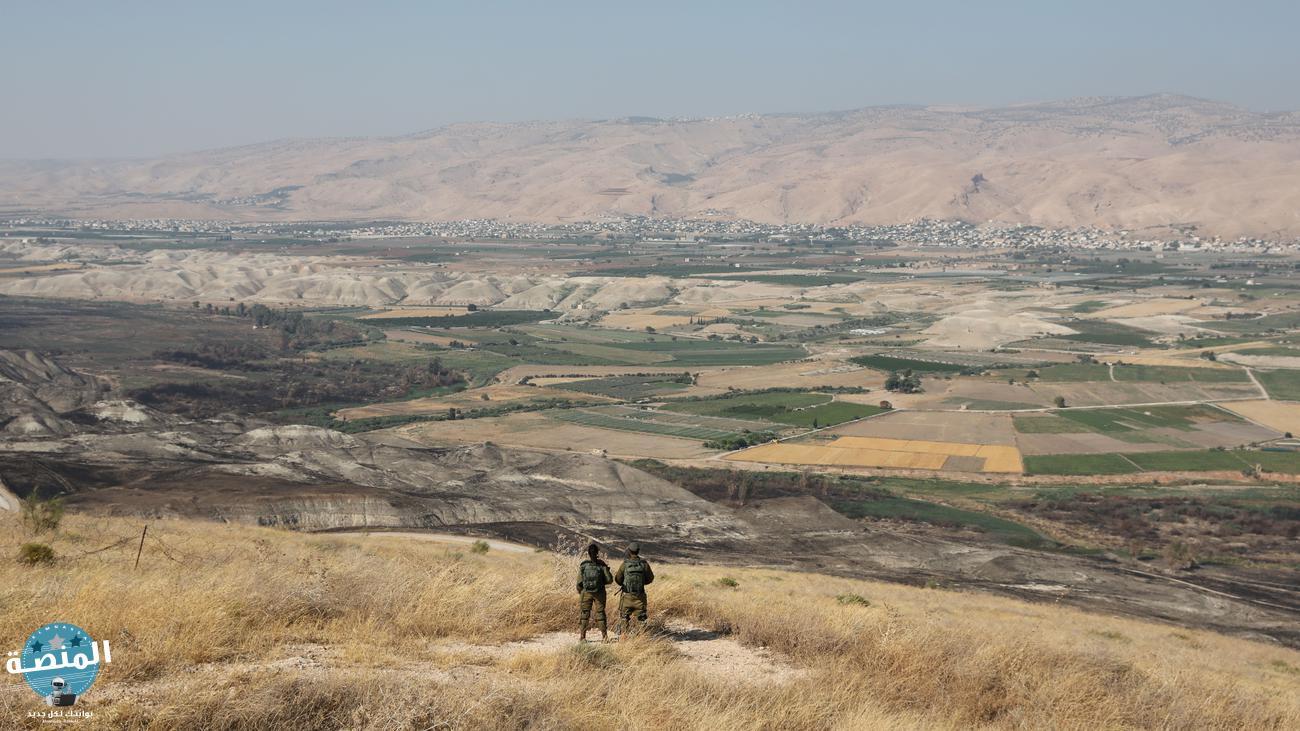 ثانيا تضاريس فلسطين