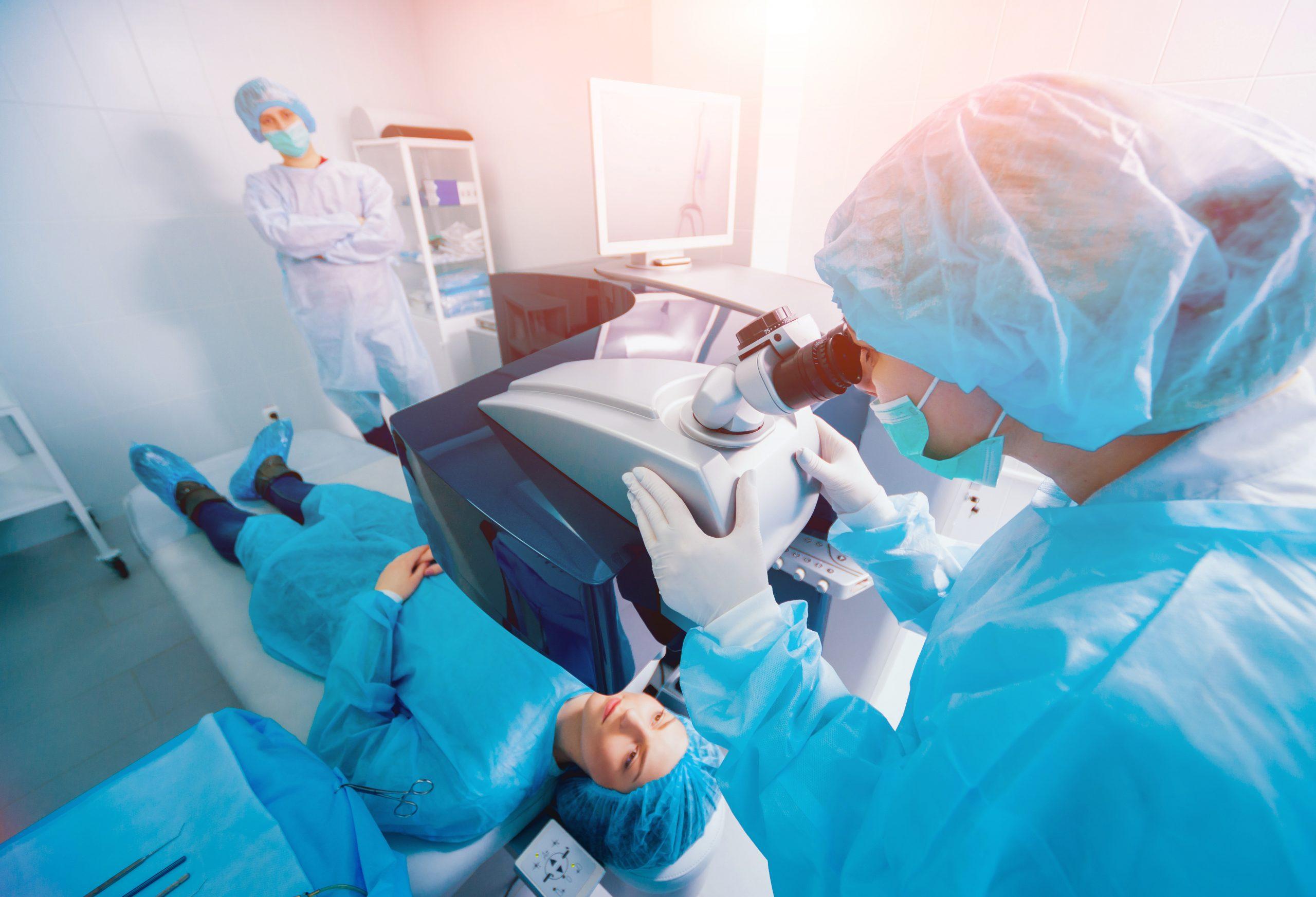 جراحة الساد | جراحة إعتام عدسة العين