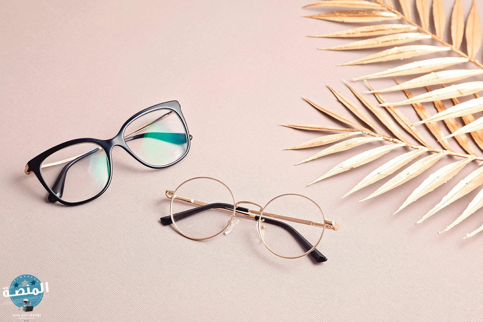عدسات النظارات منحنية المقاومة