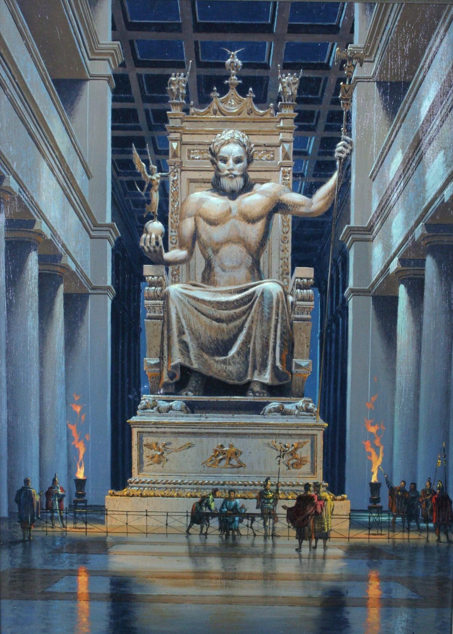 تمثال زيوس في أولمبيا