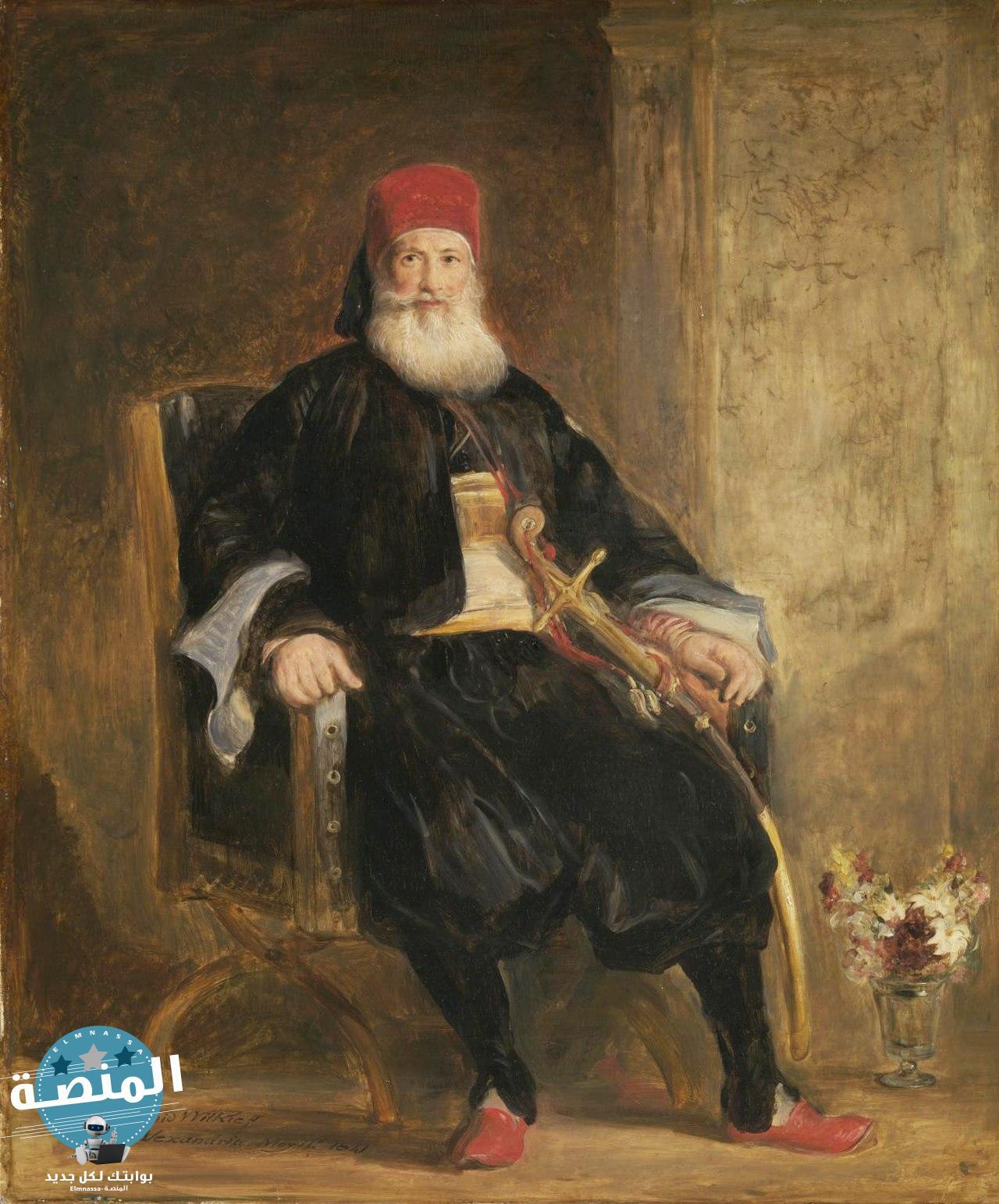 وصول محمد علي باشا الكبير الي حكم مصر