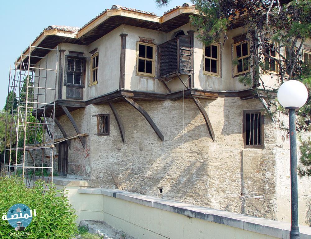المنزل الذي ولد فيه محمد علي في مدينة قولة