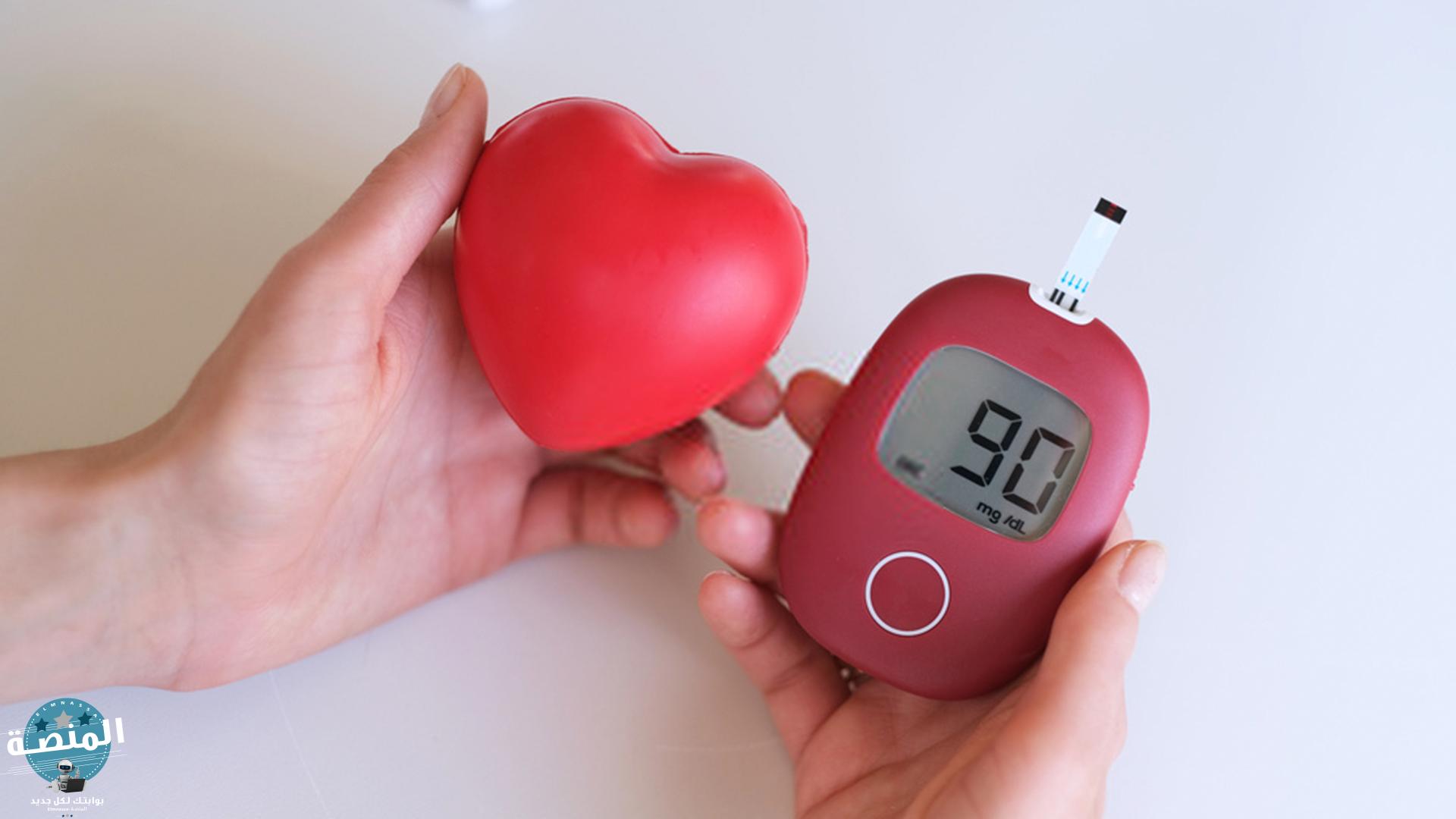 أضرار مرض السكري على أوعية القلب والدم